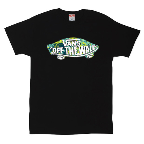 Футболка Vans Off The Wall Abstract Green
