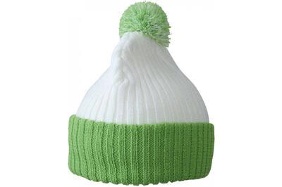 Шапка MB7540 Green/White