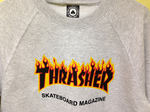 Толстовка Thrasher Fire for Gray фото 5