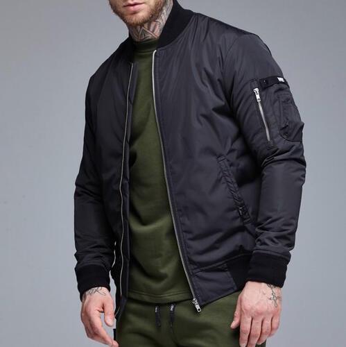 Осенняя куртка бомбер RAGE! NBJ-V2'18 Black