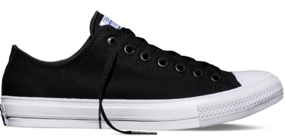 Converse Chuck Taylor All Star II Low Black/White/Navy (New Collection!)