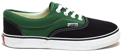Vans Era Black Green